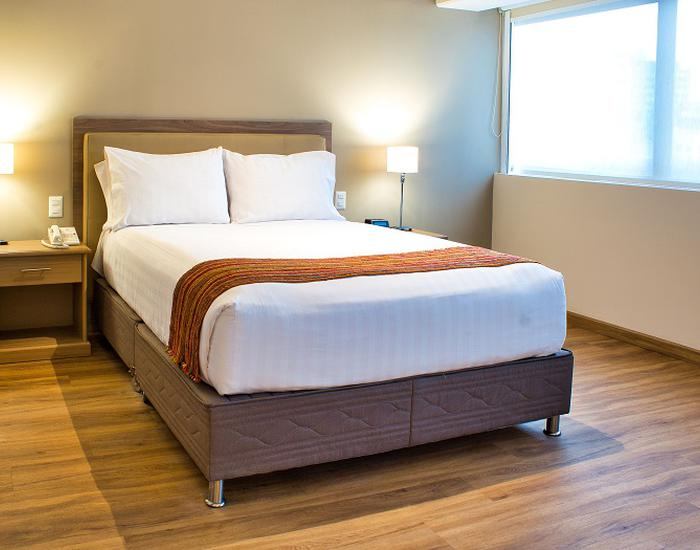Junior Suite Queen Bed ESTELAR Bellavista Apartments Miraflores